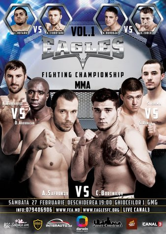 Eagles Fighting Championship 1