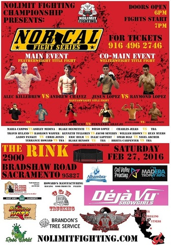 No Limit Fighting Championship 8