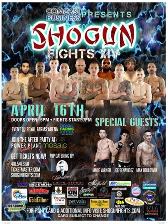 Shogun Fights 14