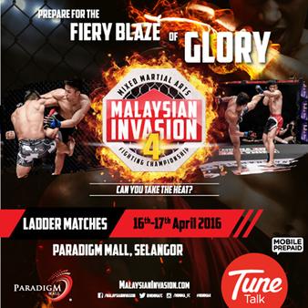 Malaysian Invasion 4: Ladder Match