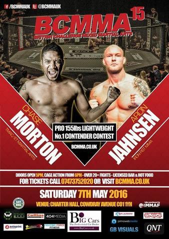 British Challenge MMA 15