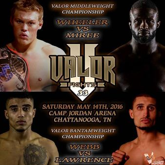 Valor Fights 33