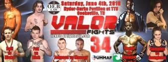 Valor Fights 34