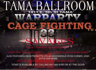 WarParty Cage Fighting 33