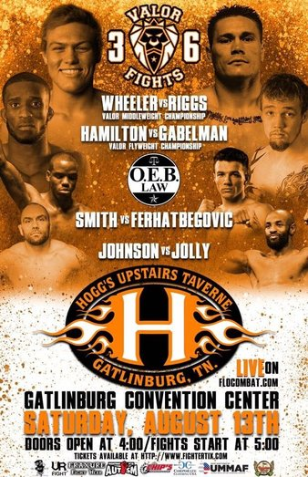Valor Fights 36