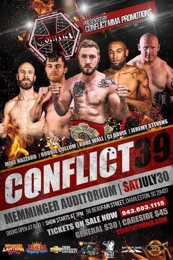 Conflict MMA 39