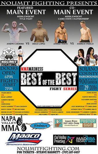 Best of the Best Fight Series 1