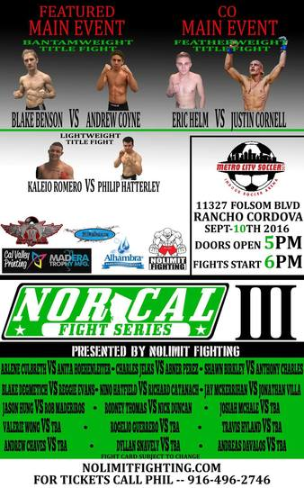 Nor Cal Fight Series 3