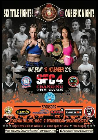 Singapore Fighting Championship 4
