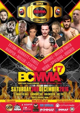British Challenge MMA 17