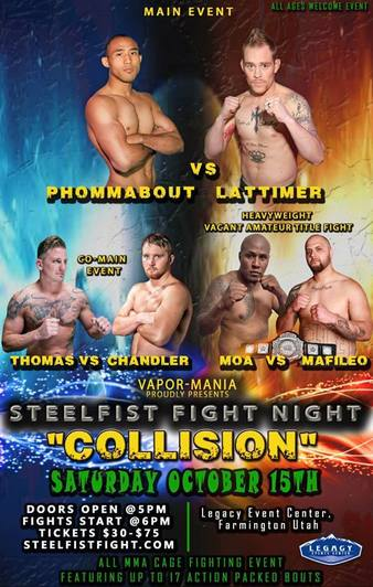 SteelFist Fight Night 45