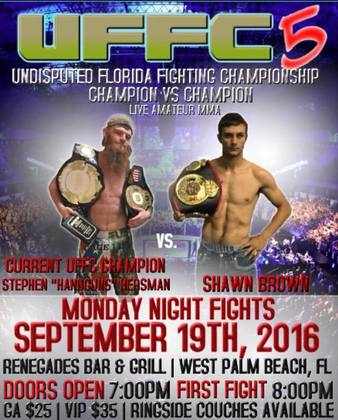 Undisputed Florida Fighting Championship 5