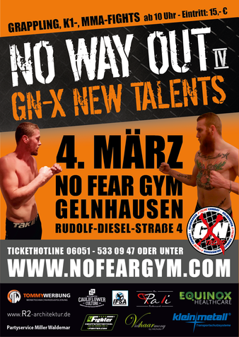 GNX New Talents: No Way Out 4 | MMA Event | Tapology