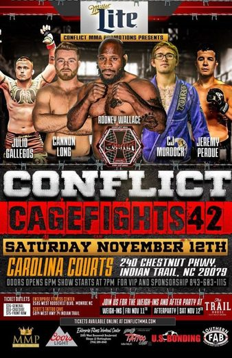 Conflict MMA 42