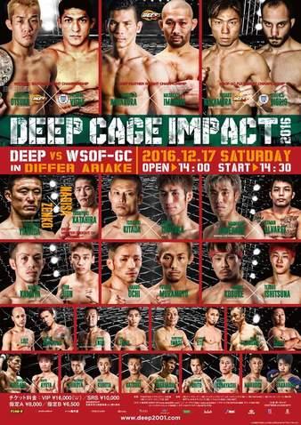 DEEP Cage Impact 2016