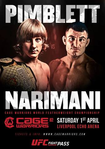 Cage Warriors 82