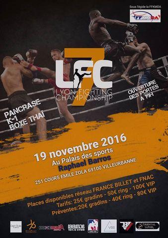 Lyon Fighting Championship 7