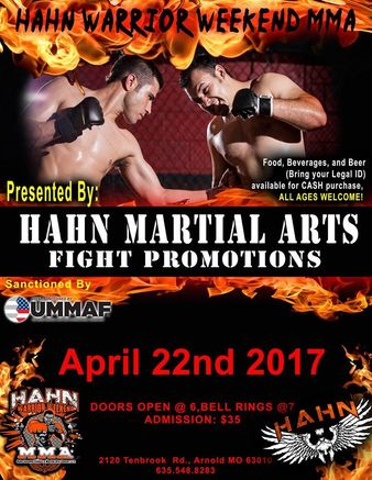 Hahn Warrior Weekend