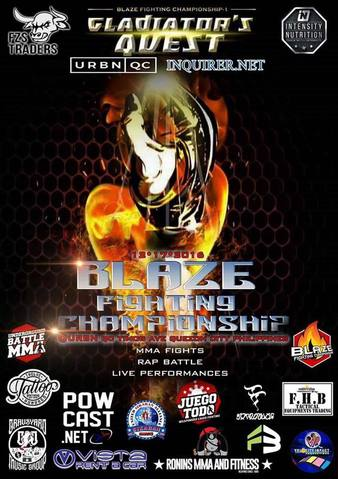 Blaze Fighting Championship 1