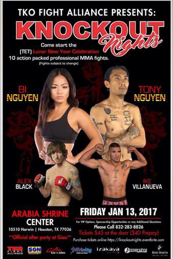 TKO Fight Alliance 1