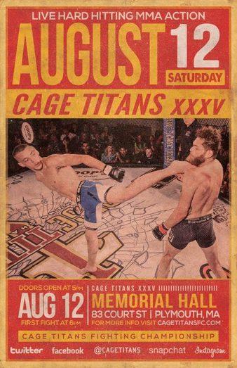 Cage Titans 35