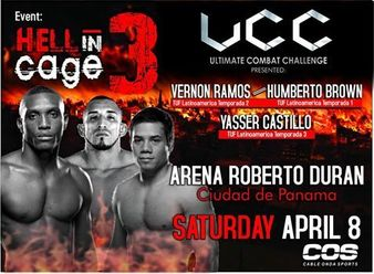 UCC Hell in Cage 3