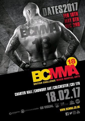 British Challenge MMA 18