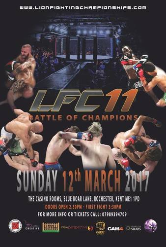 Lion Fighting Championships 11