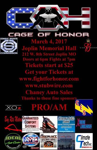 Cage of Honor 69
