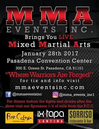 MMA Events Inc