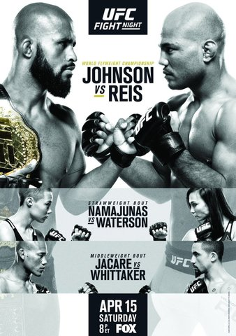 UFC on FOX 24 Johnson vs. Reis Poster