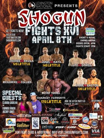 Shogun Fights 16