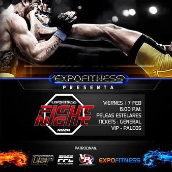 Expofitness Fight Night