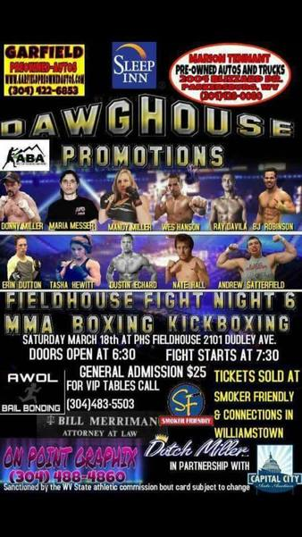 Fieldhouse Fight Night 6