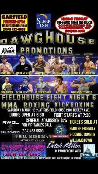 Fieldhouse Fight Night 6