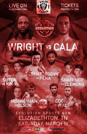 Valor Fights 41