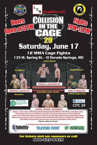 Collision In The Cage 29