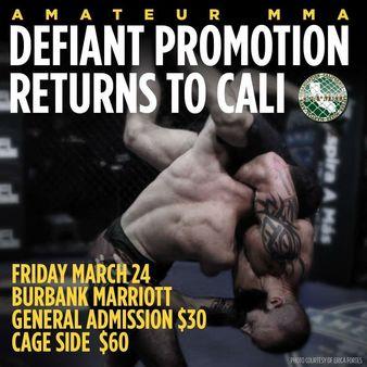 Defiant MMA 2