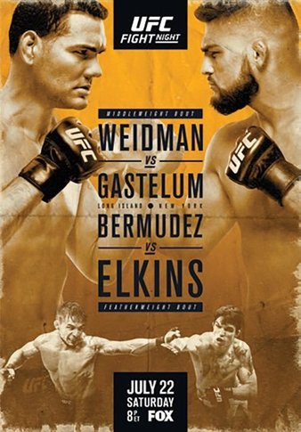 UFC_on_FOX_25_Weidman_vs._Gastelum_Poste