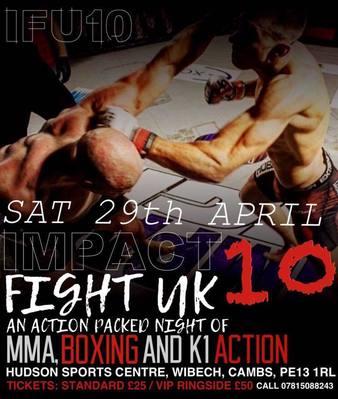 Impact Fight UK 10