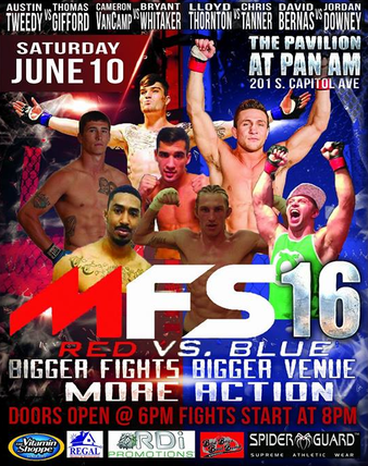 Midwest Fight Series 16