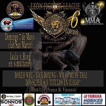 Global MMA - Leon Fighter League 6