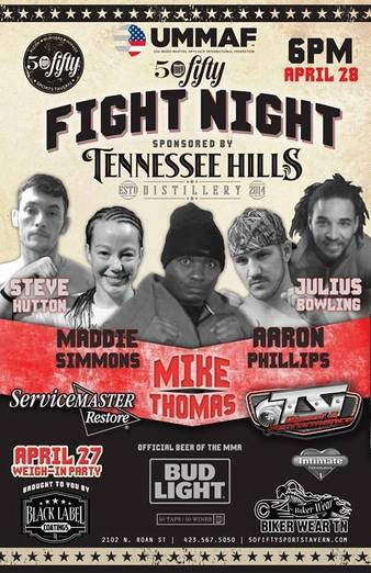 50Fifty Fight Night