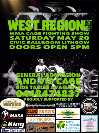 West Region Fight Night 3