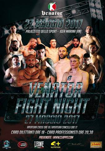 Venator Fight Night 1