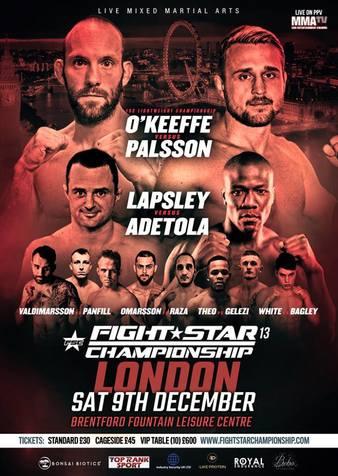 FightStar Championship 13