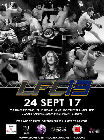 Lion Fighting Championships 13