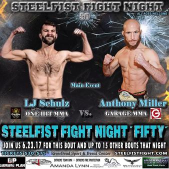 SteelFist Fight Night 50