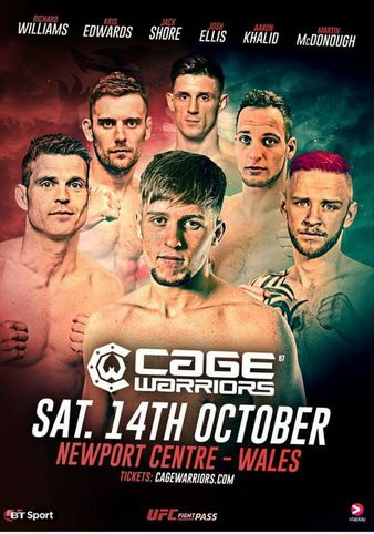 Cage Warriors 87