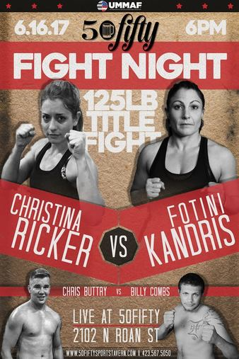 50fifty Fight Night 2